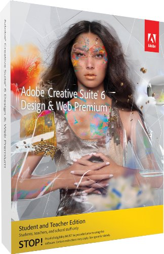 Adobe Creative Suite 6 Design &amp; Web Premium Student and Teacher*, PC