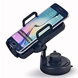 Itian QI Vehicle Mounted Wireless Charger Charging Cradle, In Car Wireless Charger,With Suction Cup, Air Vent Mount For Galaxy S3 S4 S5 Note2 Note3 Nexus4 5 7 LG G2 G3 Nokia Lumia 1020/ 920/928, MOTO Droid Maxx/Droid Mini,HTC Droid DNA, HTC Rzound,Blackbe