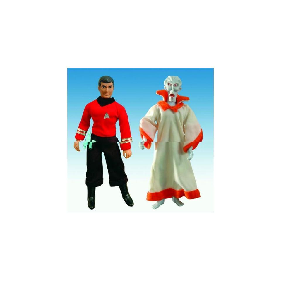 Star Trek Original Series Mego Cloth Retro Scotty & The Keeper Action Figures Case of 8 (4 Sets)