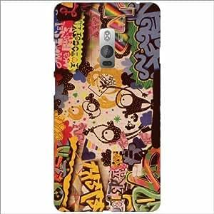 Design Worlds - Oneplus 2 Designer Back Cover Case - Multicolor Phone Cover