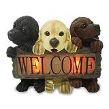生活雑貨インテリア通販/子犬 ソーラー ライト 可愛らしくお出迎え ガーデニング エクステリア ガーデンライト 雑貨 屋外 庭 自動