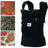 Ergo Baby Options Baby Carrier - Black with India option covers