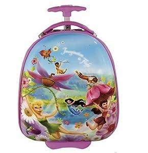 Heys Childrens Disney Fairies Pod Suitcase-fairies In Flight Design