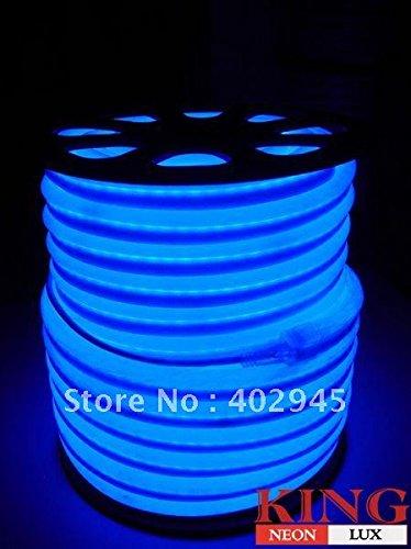 Led Neon Flex Blue Led Soft Neon Light Led Flexible Neon Strip Led Neon Rope Lights 240V Dhl Express Shipping