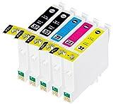 (5 色セット) InkHero Epson IC32,IC4CL32,IC6CL32 ICBK32, ICC32, ICM32, ICY32 PM-A850, PM-A870, PM-A890, PM-D750, PM-D770, PM-D800, PM-G700, PM-G720, PM-G730, PM-G800, PM-G820, PM-A700, PM-A750, PM-D600 【互換インクカートリッジ 】