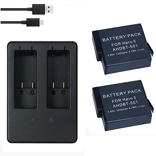 cam-ulata-2-pack-rechargeable-power-battery-and-dual-battery-charger-with-usb-type-c-cable-for-gopro