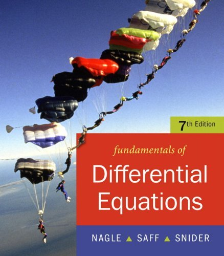 Fundamentals of Differential Equations (7th Edition)