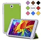 WAWO Creative Tri-fold Cover Case for Samsung Galaxy Tab 4 7.0 Inch Tablet - Green
