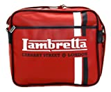 La/722 Lambretta Red Carnaby Street London Zip Up Shoulder Messenger Bag