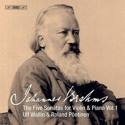 SACD : BRAHMS / WALLIN / PONTINEN - 5 Sonatas Violin & Piano 1