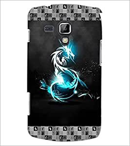 PrintDhaba Digital Dragon D-3075 Back Case Cover for SAMSUNG GALAXY S DUOS 2 S7582 (Multi-Coloured)