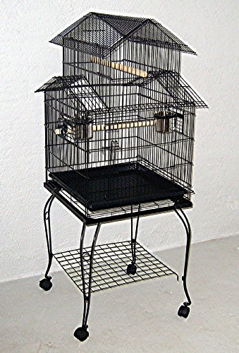 Vogelkäfig 933 schwarz