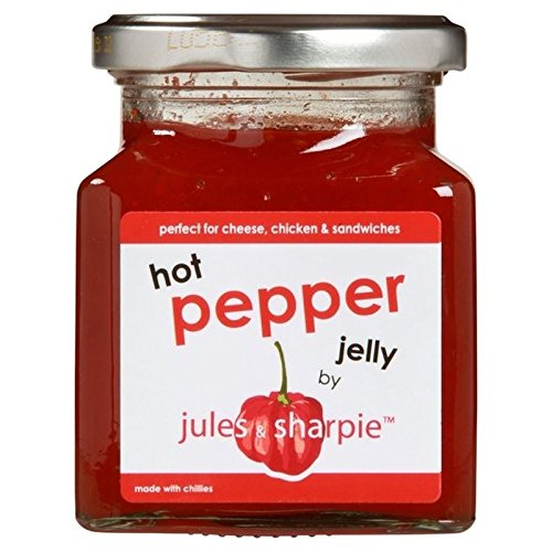 Jules & Sharpie Hot Pepper Jelly (6 x 300G)