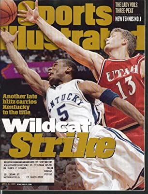 SPORTS ILLUSTRATED Chamique Holdsclaw Justin Leonard Marcelo Rios 4/6 1998
