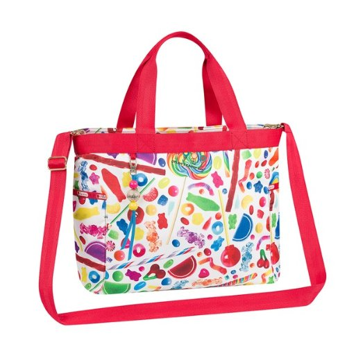 Dylan's Candy Bar LeSportsac Montauk Tote Diaper Bag in Candy Spill