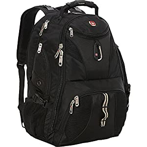 SwissGear Travel Gear ScanSmart Backpack 1900- eBags Exclusive (Black)