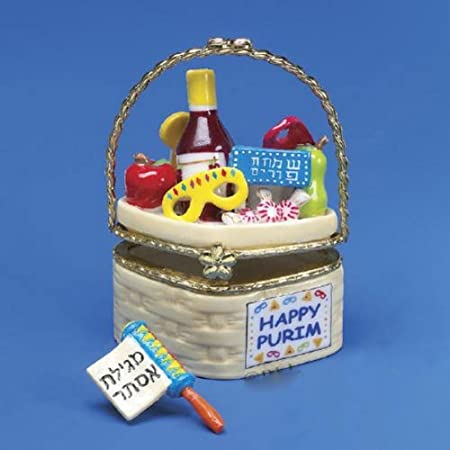 Purim Hinged Box