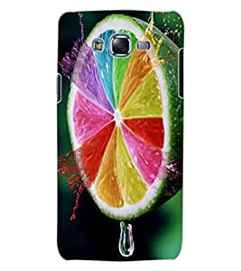 ColourCraft Creative Leamon Design Back Case Cover for SAMSUNG GALAXY J7