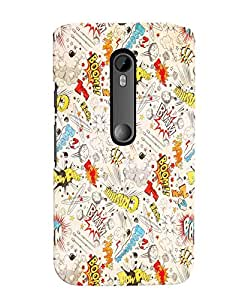 Citydreamz Back Cover For Motorola Moto X Style