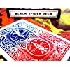 Black Spider Deck - Bicycle Playing Cards