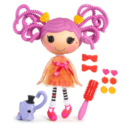 MGA Entertainment 516736E4C - Lalaloopsy Silly Hair Puppe- Peanut Big Top