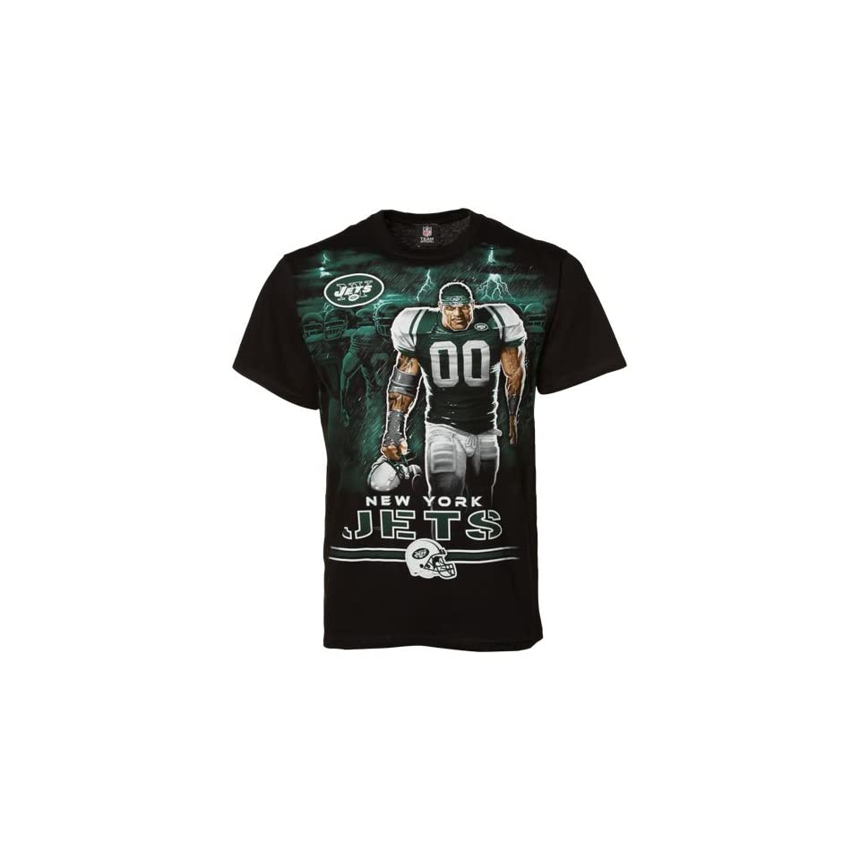 NFL New York Jets Black Tunnel Player T shirt