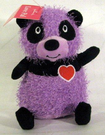 """Love Pal Purple 7"""" Plush Bear"""