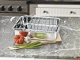 Cuisinart Chefs Classic Stainless 16-Inch Rectangular Roaster with Rack