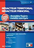 Annales / sujets indits corrigs Rdacteur Territorial / Rdacteur Principal Cat B NV Concours 2013