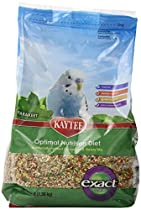 Kaytee Exact Fusion Bird Food for Parakeets, 3-lb bag