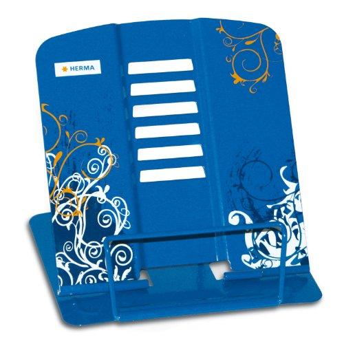 Herma 19037 HERMA Leseständer Design Spirit, blau, 19037 blau bedruckt blau