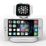 Bengoo Apple watch iPhone 2in1充電スタンド シルバー