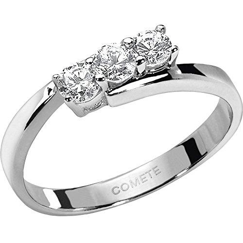 anello donna gioielli Comete Trilogy classico cod. ANB 801