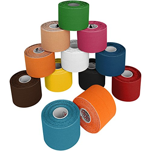 12-rollos-kinesiologia-5-m-x-50-cm-sporttape-en-11-colores-colorcolores-surtido