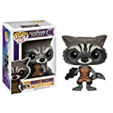 Funko POP Marvel: Guardians of The Galaxy - Rocket Raccoon Vinyl Bobble-Head Figure ~ FunKo