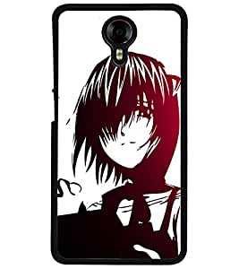 ColourCraft Lovely Drawing Design Back Case Cover for MICROMAX CANVAS XPRESS 2 E313