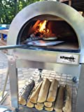ilFornino Basic Wood Fired Pizza Oven- High Grade Stainless Steel by ilFornino, New York