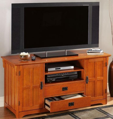 Cheap Craftsman Tall Wide screen Tv Stand (B004CSWUV8)