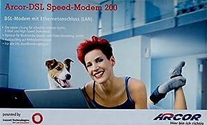 Arcor-DSL Speedmodem 200, ADSL / ADSL 2+