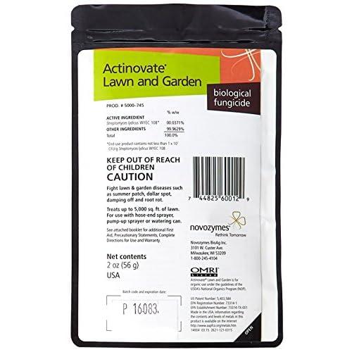 Actinovate Fungicide for Lawn & Garden - 2 oz