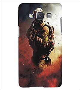 SAMSUNG GALAXY E5 SOLDIER Designer Back Cover Case By PRINTSWAG