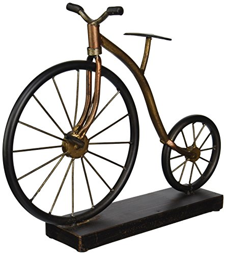 IMAX 12925 Expedition Big Wheel Bicycle Statuary