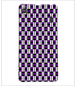 PrintDhaba Pattern D-5918 Back Case Cover for LENOVO A7000 PLUS (Multi-Coloured)