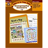 Geography Centers, Grades 1-2 ~ Jo Ellen Moore