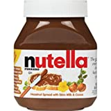 Ferrero Nutella Spread, Chocolate Hazelnut, 2-Count 26.5-Ounce