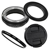 Fotodiox M-Reverse-58-Nikon-Kit RB2A 58MM Macro Reverse Ring Kit with G and DX Type Lens Aperture Control, 52MM Lens Cap and 52MM UV Protector Fits Nikon from Fotodiox Inc.
