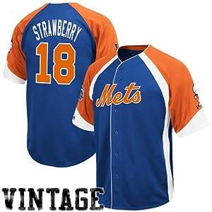 Darryl Strawberry New York Mets Majestic Wheelhouse Jersey by Majestic