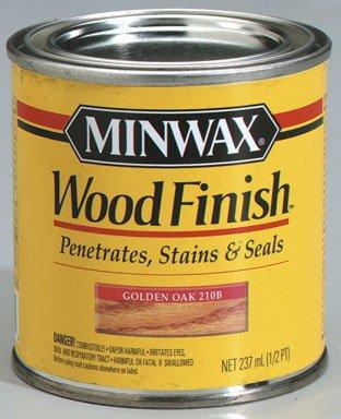 Buy Minwax Wood Finish, 1/2 Pt Golden Oak (Minwax Painting Supplies,Home & Garden, Home Improvement, Categories, Painting Tools & Supplies, Paint Stain & Solvents, Stain)