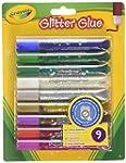 Crayola - 9 Glitter Glue