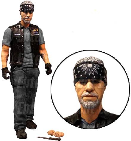 Mezco Toyz Sons of Anarchy Exclusive Action Figure Clay Morrow [Bandana]